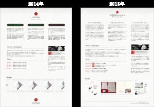 2014年版と2015年版の比較