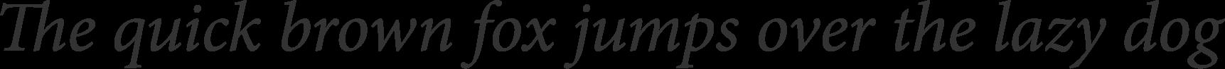 Minion Italic