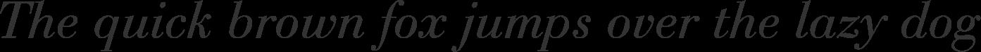 Bauer Bodoni Italic