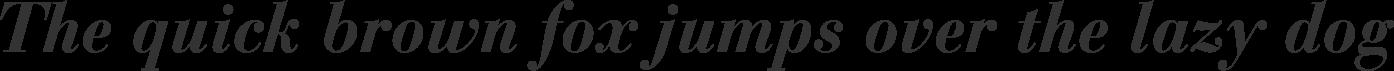 Bauer Bodoni Bold Italic