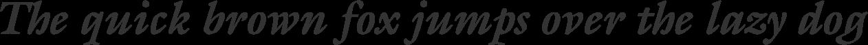Galliard Bold Italic