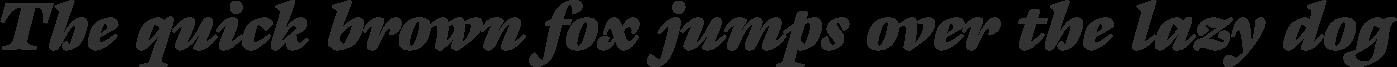 Galliard Ultra Italic