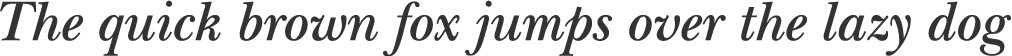 New Baskerville Semibold Italic