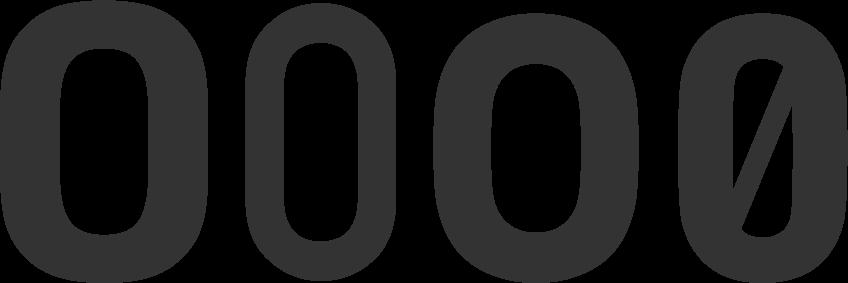 DIN Oと0の比較